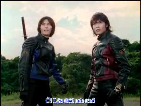 Abaranger vs hurricanger part 3/3