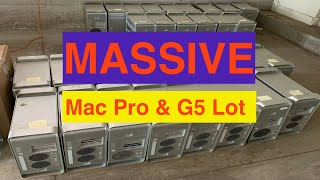 MASSIVE Apple Mac Pro Desktop and PowerMac G5 Lot