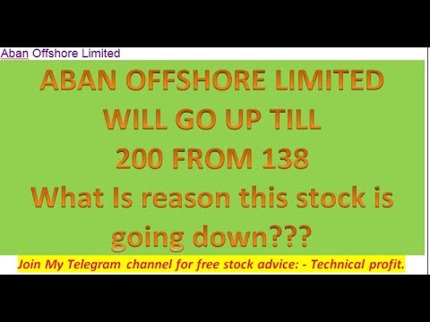 ABAN OFFSHORE 52 LOW DUE TO CRUDE RATE HIGH BUT NOW CRUDE IN REVERSAL MODE