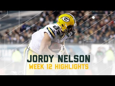 Jordy Nelson Week 12 Highlights | Eagles vs. Packers | NFL