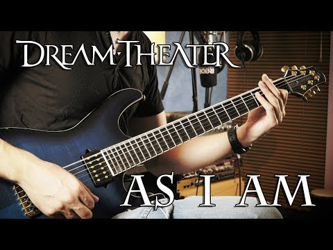 Dream Theater - As I Am - Guitar Cover by George Mylonas