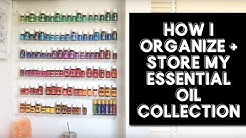 How I Organize And Store My Essential Oil Collection