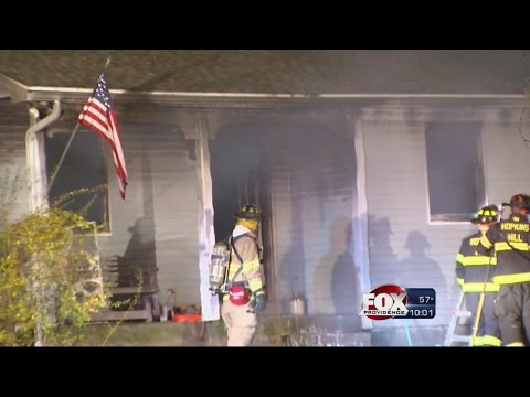 West Greenwich home destroyed by fire