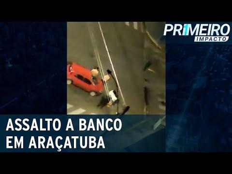 Reféns São Usados Como Escudo Humano Durante Ataque A Banco Em Araçatuba |Primeiro Impacto(30/08/21)