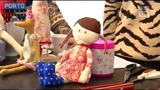 Como Costurar uma Boneca – Parte I – Costura com Riera Alta