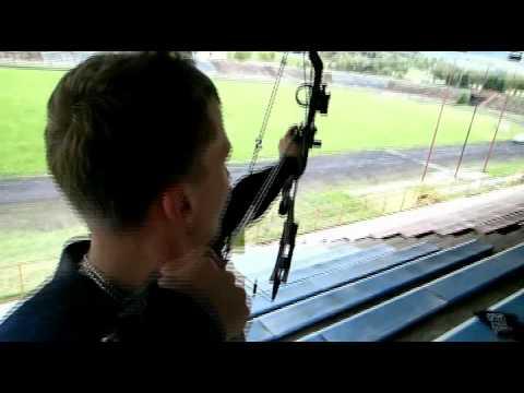 Compound Bow Kladkový luk na 110 m Hoyt 35 CRX