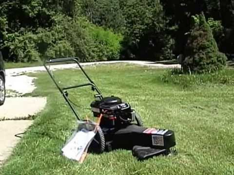 Swisher Trim And Mow 1st Time Youtube