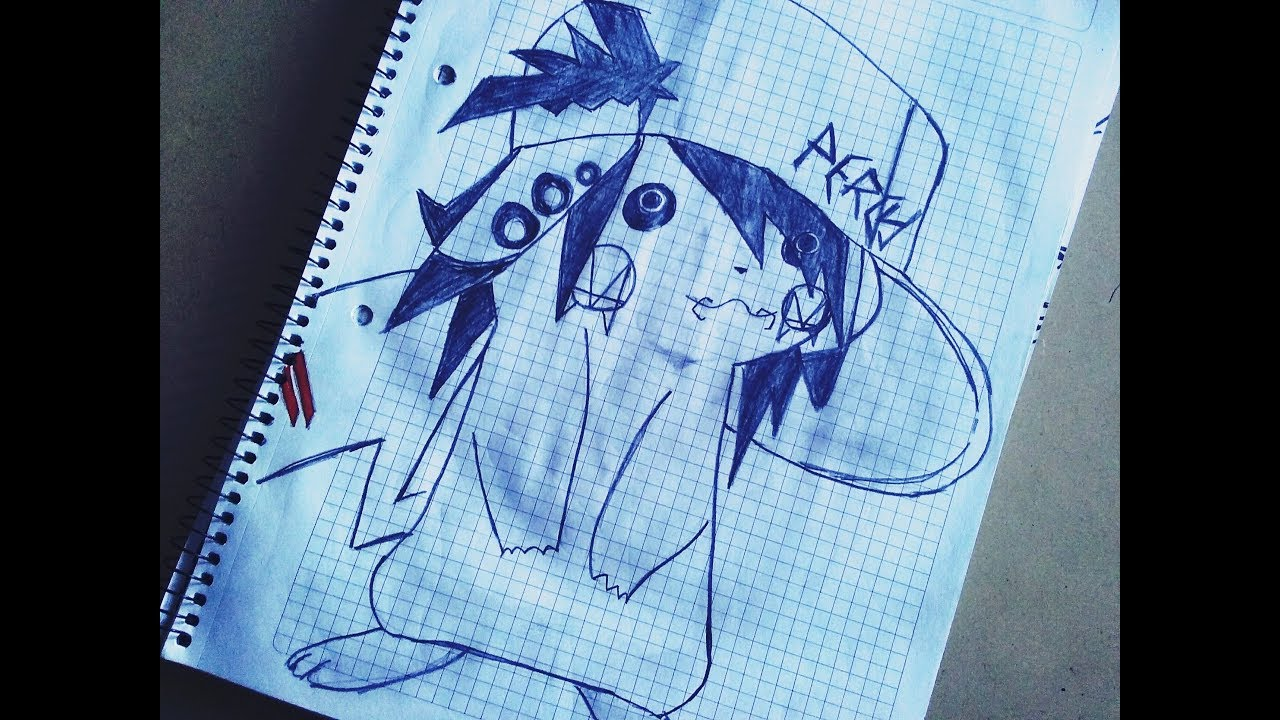 Dibujando A Pikachu Emo D Dibujos Youtube