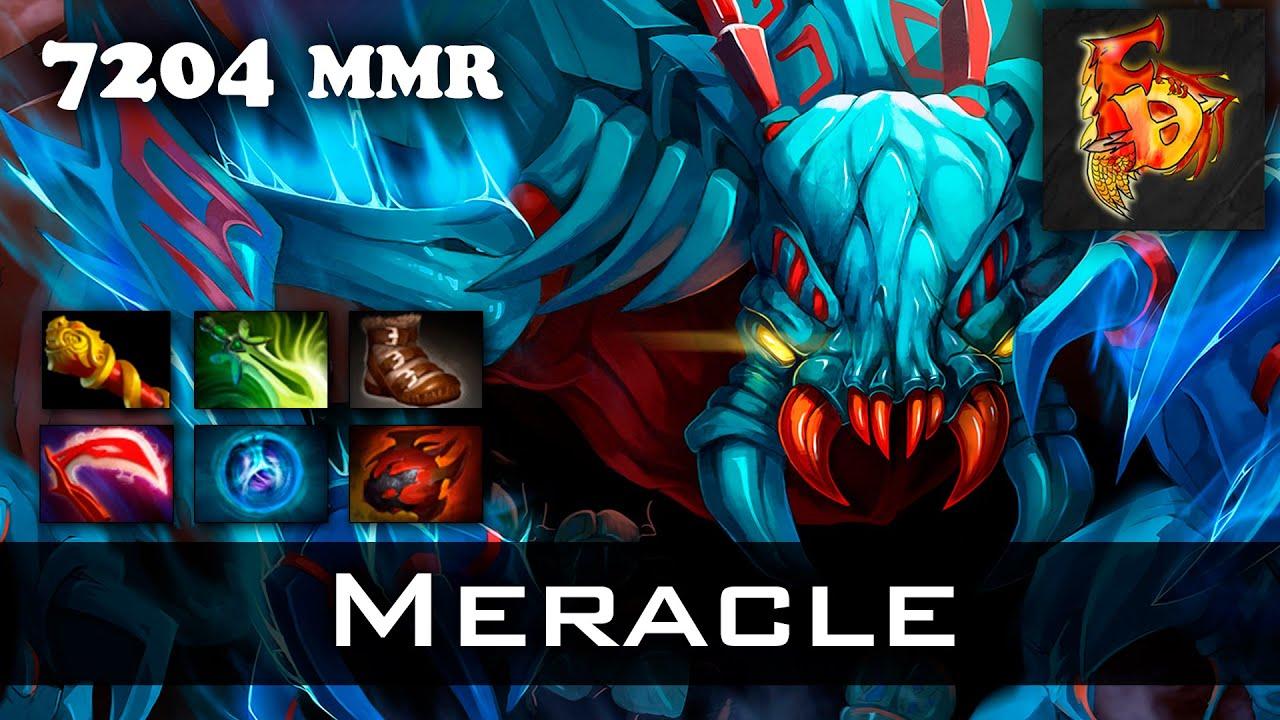 meracle weaver 7204 mmr 31 kills dota 2 youtube