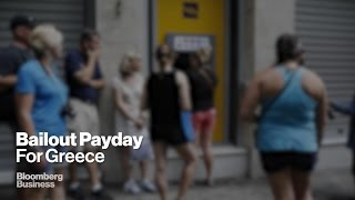 Greece Begins to Repay Debts as Bailout Comes its way...