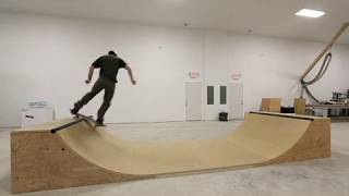 "2' 6"" Tall Bedroom Halfpipe"