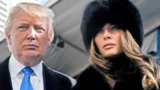 Donald & Melania Trump Super Bowl Party in Florida