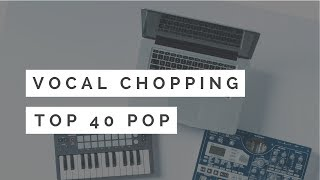Vocal Chopping In Cubase - Pop Production Tutorial