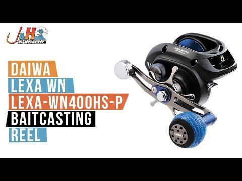 Daiwa Lexa WN LEXA-WN400HS-P Baitcasting Reel | J&H Tackle