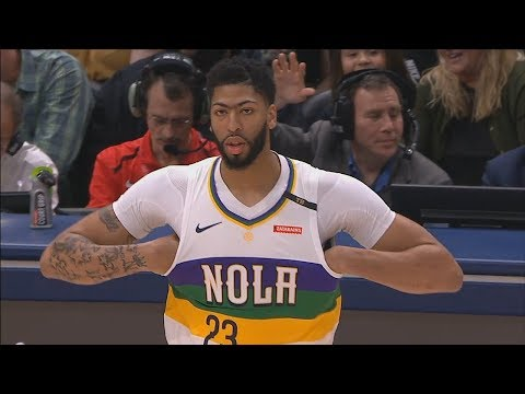 Anthony Davis Gets Booed By Pelicans Crowd Then Cheered After Scoring! Pelicans vs Timberwolves