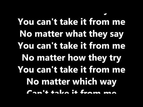 Major Lazer - Can't Take It From Me (ft. Skip Marley) Lyrics