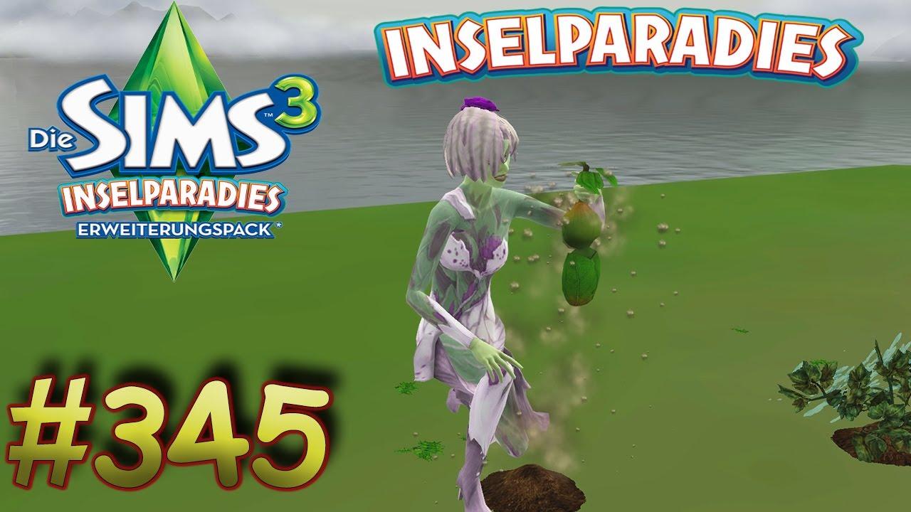 Die Sims 3 Inselparadies 345 Pflanzenbaby Nachwuchs Aus Der Erde