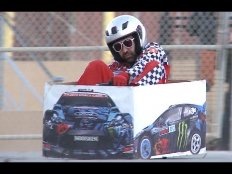 """Watch Ken Box Drift the World's Tiniest """"Rally Car"""""""