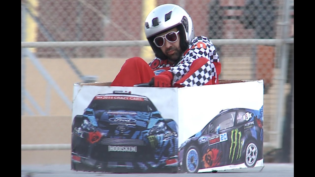 Publicité Crazy Cart – Ken Box Gymkhana 2