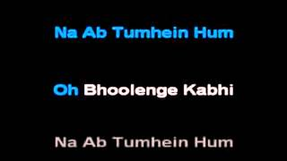 Hum Dil De Chuke Sanam Karaoke
