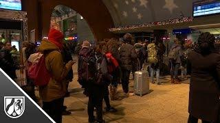 Der Regionalverkehr in NRW steht still - Fernverkehr bundesweit eingestellt