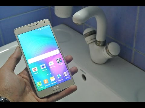 Samsung Galaxy A7 - Water Test HD