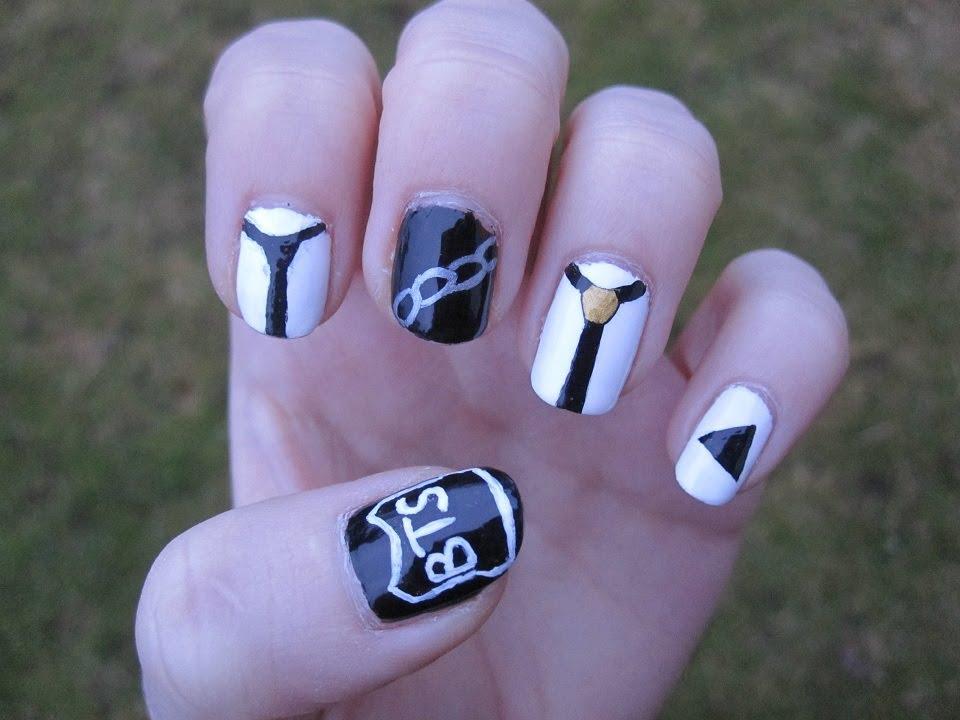 kpop bts - boy in luv nail art