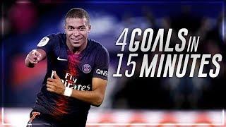 Deadly GoalScorers 2019 • 4 Goals in 1 Match | Ft. Mbappé, Salah, Messi, Ronaldo