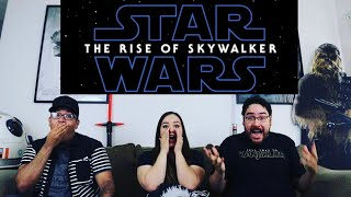 Star Wars EPISODE IX - THE RISE OF SKYWALKER Official Teaser Trailer Reaction / Review