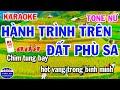 Karaoke Hành Trình Trên Đất Phù Sa Tone Nữ Nhạc Sống Cha Cha