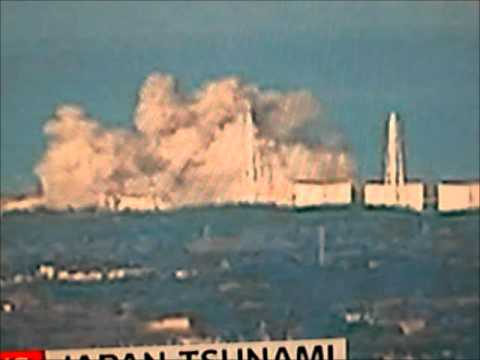 Fukushima (Japan) Nuclear Power Plant Explosion 12 March 201