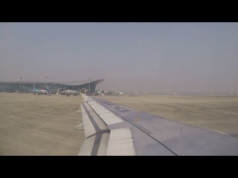 Great PTU Sound!   China Eastern Airlines Airbus A320-232 [B-6346] Taxi, and Takeoff from Hangzhou
