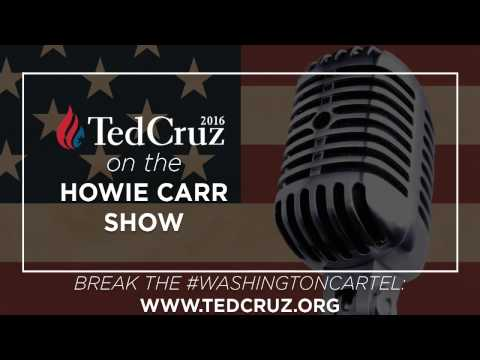 Ted Cruz on the Howie Carr Show
