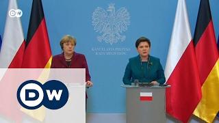 Меркель в Польше: почему охладели отношения Берлина и Варшавы?