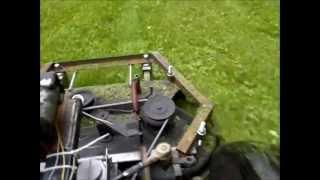 Traktorek kosiarka SAM silnik 126p