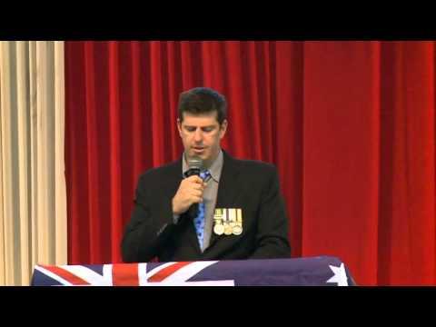 Aussie Digger Speaking against Islam