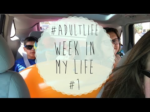 Coffee, School & Work - Week In My Life #1 | #AdultLife