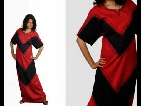 Orientalische Kaftan Mode Damen Hauskleider made by Egypt Bazar Online Shop