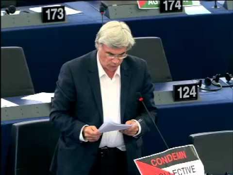 Patrick Le Hyaric: débat Palestine 16.07.14