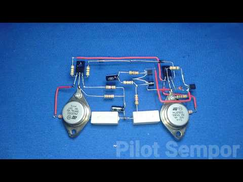 Merakit Amplifier Ocl 150w Tanpa Pcb_Pilit Sempor