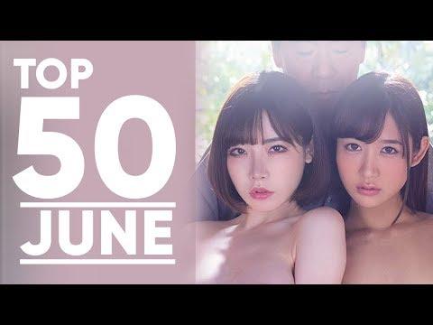 Top 50 Japanese AV Monthly Ranking (June 2019)