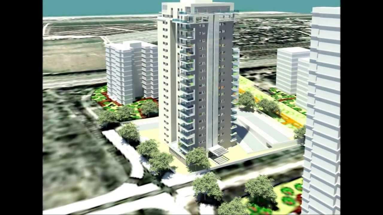 מודרני גלי כרמל - מגדל האקדמאים טירת הכרמל עמותת רכישה - YouTube HQ-71