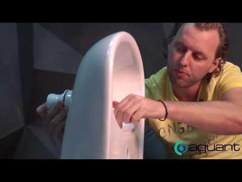 Как собирать сифон для раковины с одним переливом и одним отводом