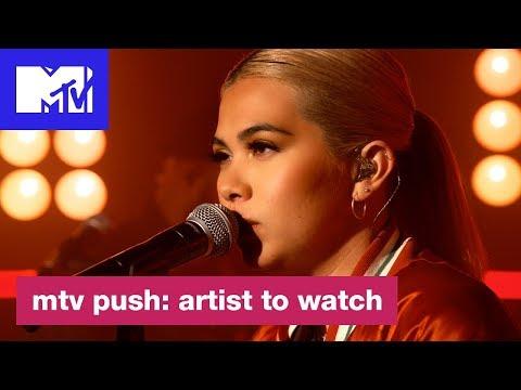 Hayley Kiyoko Performs 'Let It Be'   MTV Push: Artist to Watch
