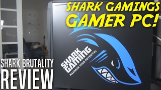 SHARK BRUTALITY GAMER PC! - Shark Gaming Anmeldelse / Review