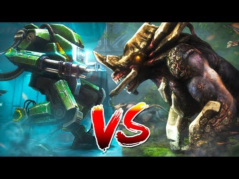 EXO SUIT vs EPIC ALIENS STREAM - Natural Selection 2