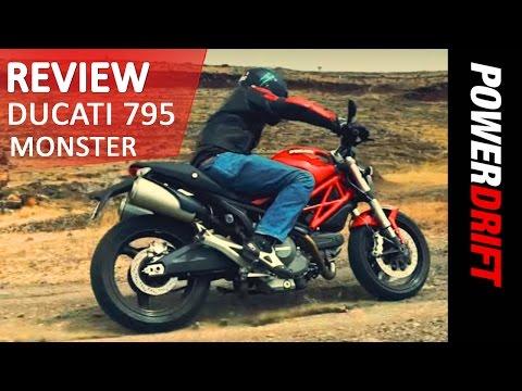 Ducati 795 Monster : Review : PowerDrift
