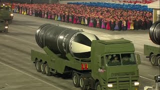video: North Korea unveils 'world's strongest weapon' at military parade