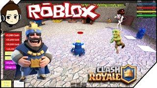 Roblox Indonesia Blox Royale Tycoon - CLASH ROYALE ADA DI ROBLOX | RendyFizzy