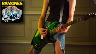 """Guitar Cover - """"She's The One"""" - The RAMONES (Tabs in video description)"""